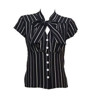 Steady Striped Harlow Top